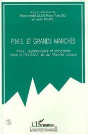 Pme Et Grands Marches - Couverture - Format classique