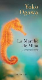 La Marche De Mina - Couverture - Format classique