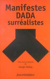 Manifeste dada et surréalistes - Intérieur - Format classique
