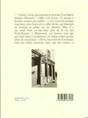 La nuit de Moyeuvre - 4ème de couverture - Format classique