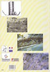 Carte Archeologique De La Gaule T.67/2 ; Strasbourg - 4ème de couverture - Format classique