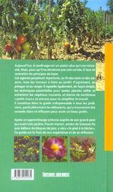 Les Quatre Saisons Du Jardinier - 4ème de couverture - Format classique