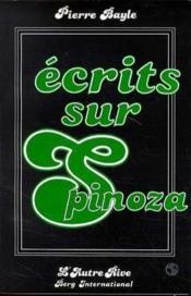 Ecrits Sur Spinoza - Couverture - Format classique