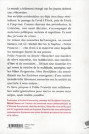 Petite Poucette - 4ème de couverture - Format classique