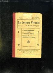 La Lecture Vivante. Cours Elementaire Le Monde De L Enfant. - Couverture - Format classique