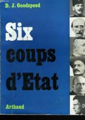 Six Coups D'Etat - Couverture - Format classique
