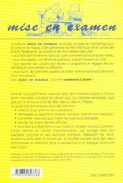 L'Entretien Individuel Aux Concours Des Ecoles De Commerce Bac/Bac+2/Bac+4/Prepas 2e Edition - 4ème de couverture - Format classique
