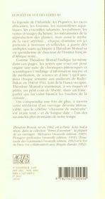 L'Hippopotame Et Le Philosophe - 4ème de couverture - Format classique