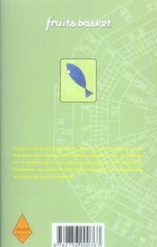 Fruits basket t.16 - 4ème de couverture - Format classique