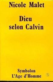 Dieu Selon Calvin - Couverture - Format classique