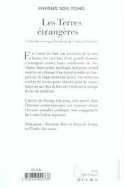 Les Terres Etrangeres - 4ème de couverture - Format classique