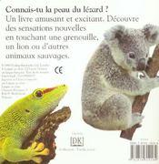 Animaux Sauvages - 4ème de couverture - Format classique