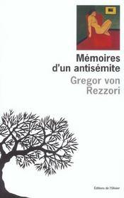 Memoires D'Un Antisemite - Intérieur - Format classique