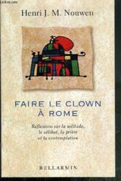 Faire Le Clown A Rome - Couverture - Format classique