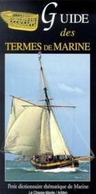 Guide des termes de marine - Couverture - Format classique