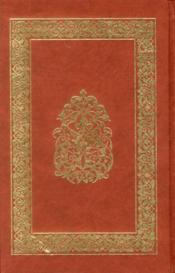 Coran thématique ; classification thématique des versets du Saint Coran - 4ème de couverture - Format classique