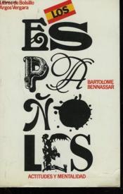 Los E3spanoles. Actitudes Y Mentalidad - Couverture - Format classique