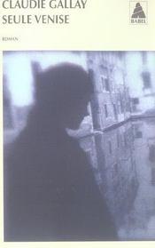 Seule Venise - Intérieur - Format classique