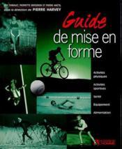 Guide De Mise En Forme - Couverture - Format classique