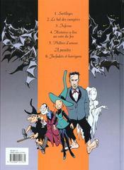 Mélusine t.1 ; sortileges - 4ème de couverture - Format classique