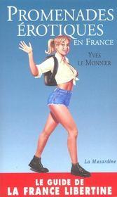 Promenades érotiques en France - Intérieur - Format classique