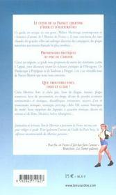 Promenades érotiques en France - 4ème de couverture - Format classique