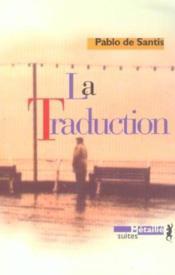 La Traduction - Couverture - Format classique