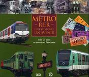 Métro-RER, une histoire, un avenir ; tous les jours au service des franciliens - Intérieur - Format classique