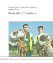 Portraits / Chantiers - Couverture - Format classique