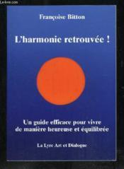 L'Harmonie Retrouvée ! - Couverture - Format classique