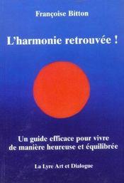 L'Harmonie Retrouvée ! - Intérieur - Format classique