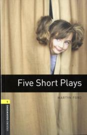 Vente livre :  Five short plays niveau: 1  - Collectif