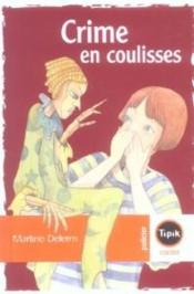 Vente  Crime en coulisses  - Martine Delerm