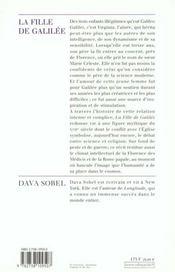 La Fille De Galilee - 4ème de couverture - Format classique