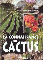 Connaissance du cactus (la) - Intérieur - Format classique