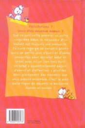 Le Grand Livre De Maman - 4ème de couverture - Format classique