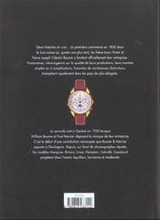 Baume & Mercier Geneve 1830 - 4ème de couverture - Format classique