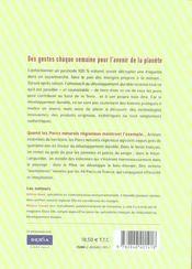 Almanach du développement durable - 4ème de couverture - Format classique