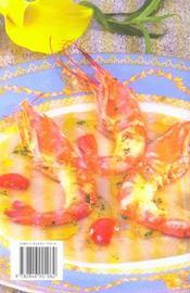 Poissons Et Fruits De Mer - 4ème de couverture - Format classique
