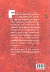 Fela le combattant - 4ème de couverture - Format classique