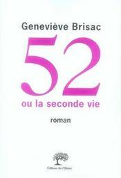 52 ou la seconde vie - Intérieur - Format classique