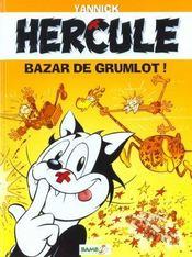 Hercule T.1 ; Bazar De Grumlots - Intérieur - Format classique