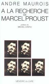 A La Recherche De Marcel Proust - Intérieur - Format classique