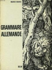 Grammaire Allemande - Couverture - Format classique