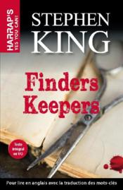 Vente livre :  Finders keepers  - Stephen King