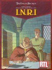Le triangle secret - I.N.R.I. t.2 ; la liste rouge - Intérieur - Format classique