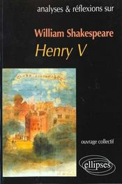 William Shakespeare Henry V - Intérieur - Format classique