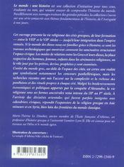 La Religion Des Cites Grecques Viiie-Ier Siecle Av.J.-C. - 4ème de couverture - Format classique