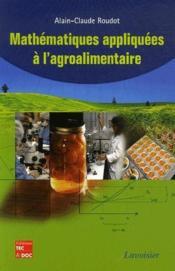 Mathématiques appliquées à l'agroalimentaire - Couverture - Format classique