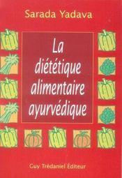 La Dietetique Alimentaire Ayurvedique - Intérieur - Format classique